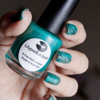 Teal x Lilypad Lacquer