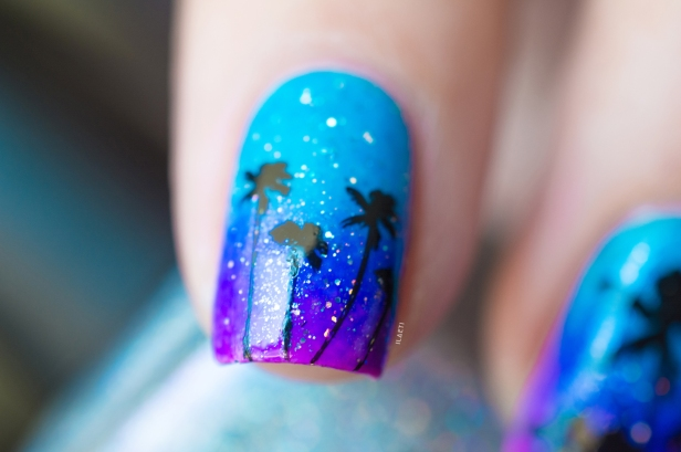 POLISHED BY KPT_GRADIENT STAMPING TROPICAL LD_01