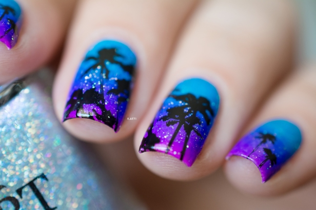 POLISHED BY KPT_GRADIENT STAMPING TROPICAL LD_06