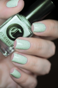 Cirque Colors_Speckled and sparkled_The speckles_Mint chip_05