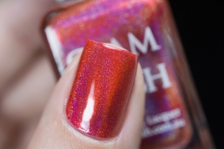 Glam Polish_No Lei-Overs!_Hibiscus hideway_02