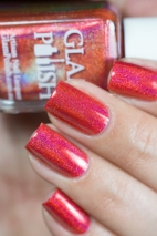 Glam Polish_No Lei-Overs!_Hibiscus hideway_03