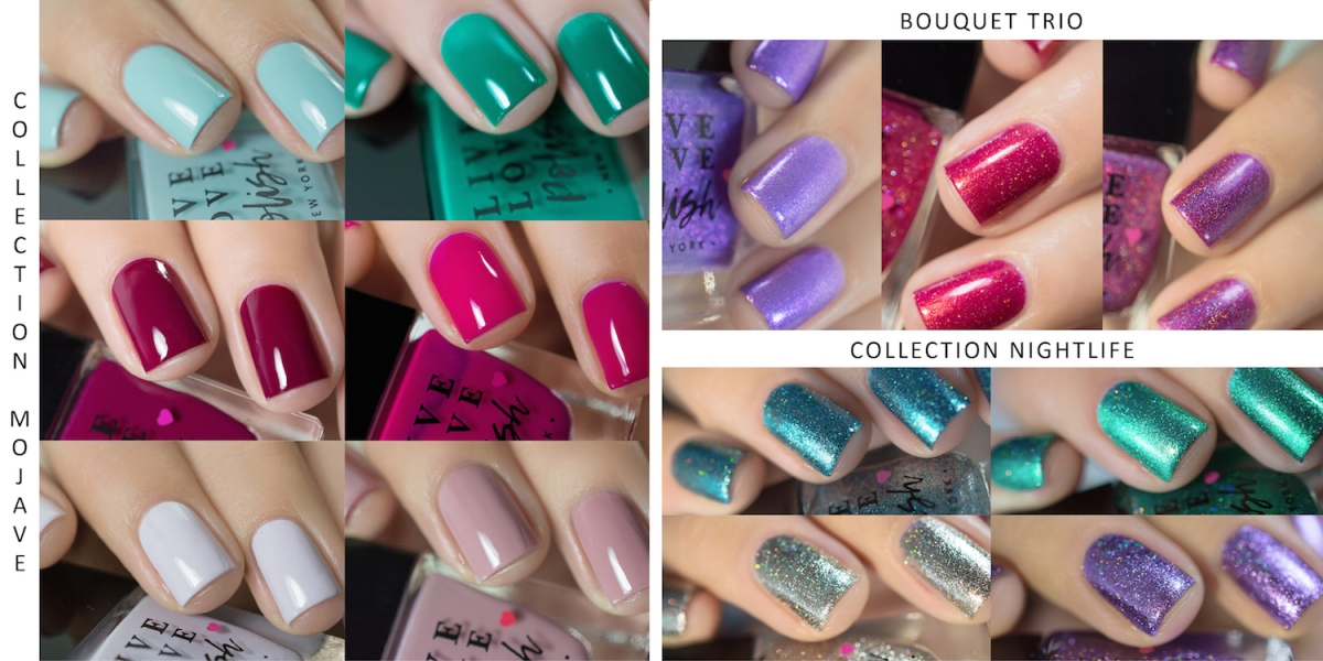 Live Love Polish - Collections Mojave / Bouquet / Nightlife